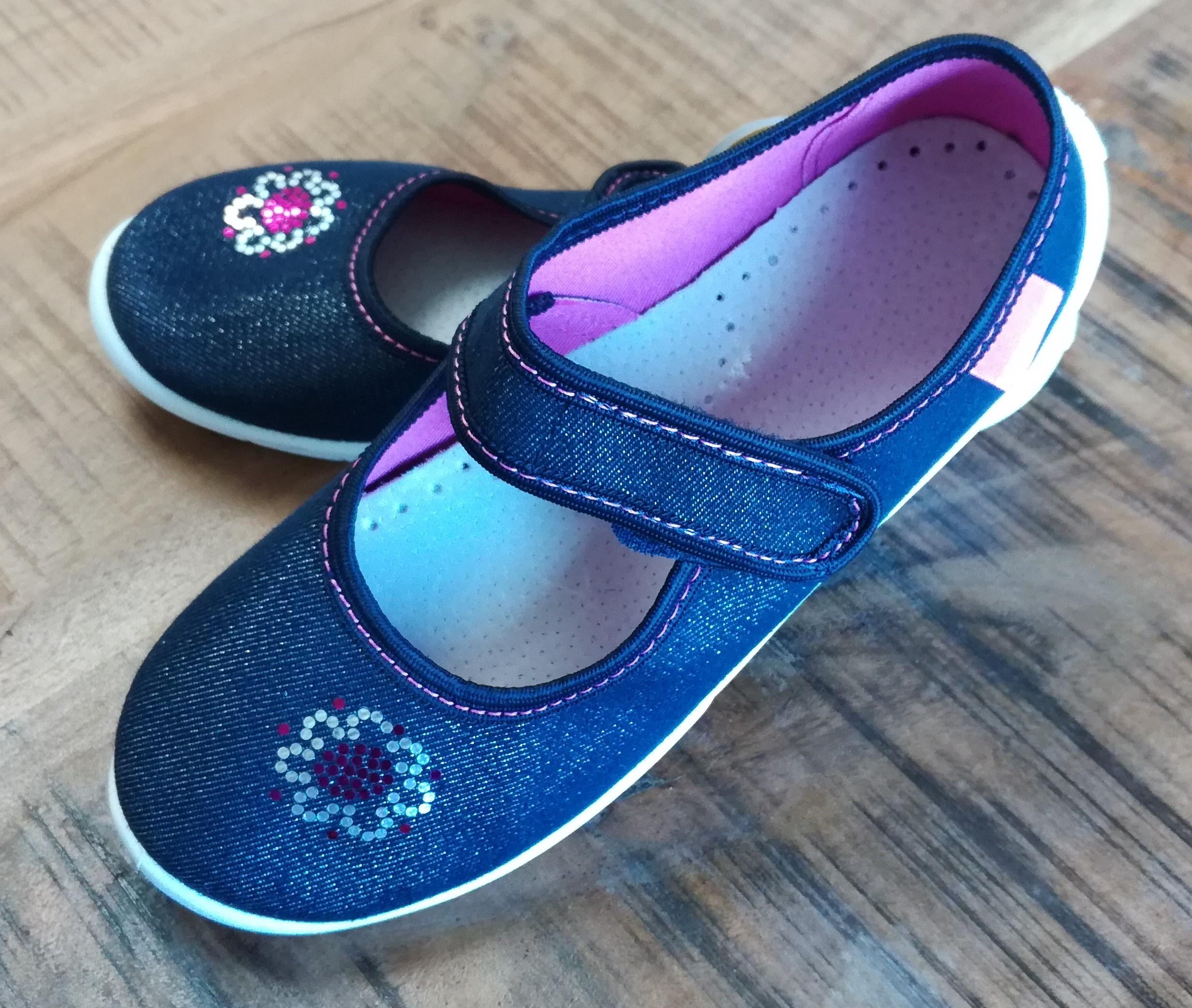 Detské papuče Sára lux kvet